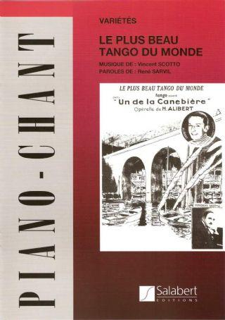 Partition séparée Le plus beau tango du monde Scotto